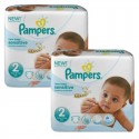 120 Couches Pampers New Baby Sensitive taille 2 sur Sos Couches
