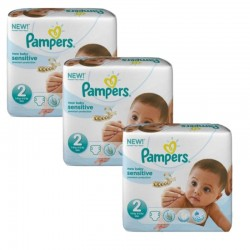 Giga Pack 180 couches Pampers New Baby Sensitive