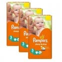 246 Couches Pampers Sleep & Play taille 3 sur Sos Couches