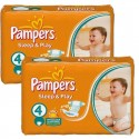 108 Couches Pampers Sleep & Play taille 4 sur Sos Couches