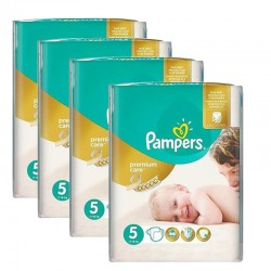 240 Couches Pampers Premium Care - Prima taille 5