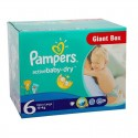126 Couches Pampers Active Baby Dry taille 6 sur Sos Couches