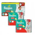 188 Couches Pampers Baby Dry Pants taille 4 sur Sos Couches
