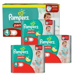 376 Couches Pampers Baby Dry Pants taille 5