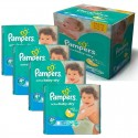350 Couches Pampers Active Baby Dry taille 4+ sur Sos Couches