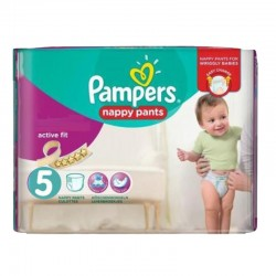 40 Couches Pampers Active Fit Pants taille 5