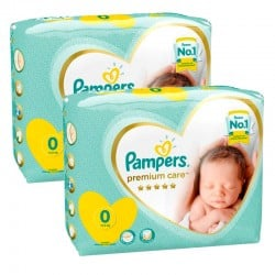 60 Couches Pampers New Baby Premium Care taille 0
