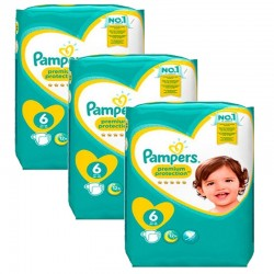 148 Couches Pampers New Baby Premium Protection taille 6