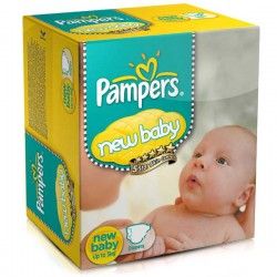 Maxi Giga Pack 288 couches Pampers New Baby Dry