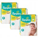 248 Couches Pampers New Baby Premium Protection taille 2 sur Sos Couches