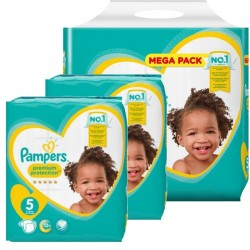 390 Couches Pampers New Baby Premium Protection taille 5