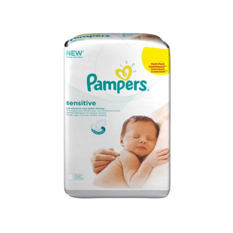 Achat 648 lingettes b b pampers sensitive sur sos couches - Couches pampers sensitive ...