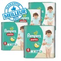 42 Couches Pampers Baby Dry Pants taille 6 sur Sos Couches