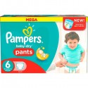 70 Couches Pampers Baby Dry Pants taille 6 sur Sos Couches