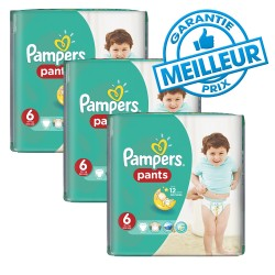 98 Couches Pampers Baby Dry Pants taille 6